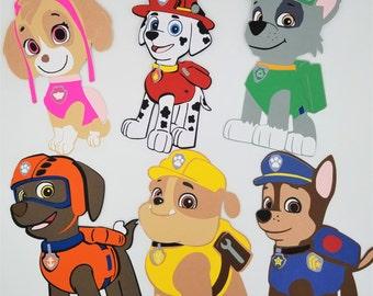Paw Patrol Pups Invitations, Paw Patrol Birthday Party Invitation. Paw Patrol party, Birthday Invitation, Paw Patrol Pups, Pawty - Set of 10