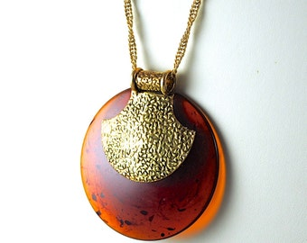 Vintage Lanvin-Like Necklace Repurposed Recycled
