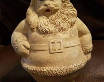 Vintage Plaster Santa