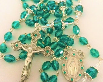 Emeral Green Rosary