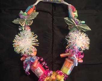 Birthday Lei / Graduation Lei / Bachelorette Party Lei - Candy Toy & Money Necklace - Empty Lei's Also!