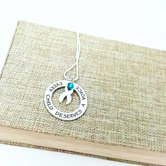 Every Child Deserves A Voice Necklace - Apraxia Awareness & Support - Apraxia of Speech