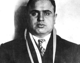 Al Capone  in 1925 in Brooklyn .