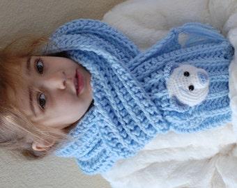 Amigurumi Crochet Giraffe Scarf