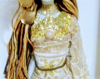 La Catrina Gloria ~ Day of the Dead Los Muertos Ofrenda OOAK Barbie doll
