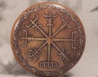 Vegv 237 Sir Icelandic Design Viking Compass Rose Print