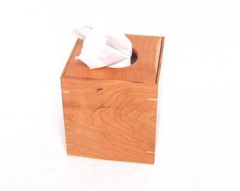 Cherry Tissue Box Holders