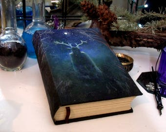 Horned One 500 page Blank Book of Shadows 6x9 Grimoire