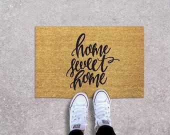 Paperfelt Custom Lettered Doormat
