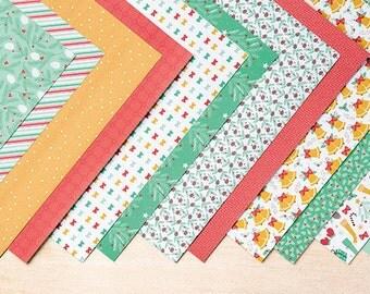 Presents & Pinecones Designer Series Paper- FREE SHIPPING!