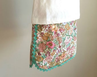 Floral Skirt, Size 4