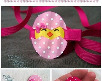 Hatching Chick Ribbon Sculpture TUTORIAL in PDF, Instant Download