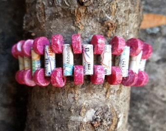 Cuff Map Bracelet