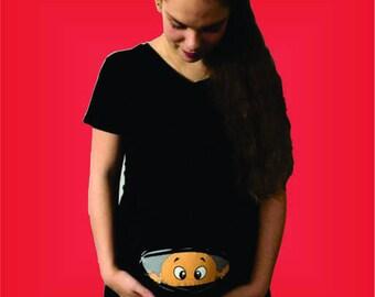 maternity shirt peek a boo peek a boo 323