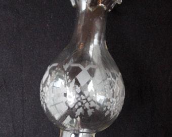 Paraffin Etched Oil Lamp Chimney, Glass Chimney, Lamp Shade, Light Cover, Kerosene Lamp Shade, Hurricane Lamp Shade, Petroleum Lamp WTH-1520