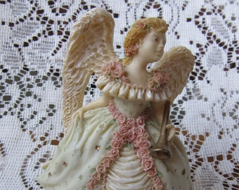 SALE: United Design Corporation Angel Collection -Summer's Glory -AA071 -USA -Shannon Johnson -Angel Collectible -Resin Statue