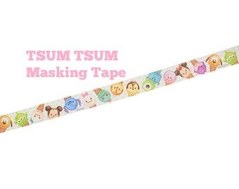 Disney TSUM TSUM Washi Tape - Paper Masking Tape 15mm ×8m