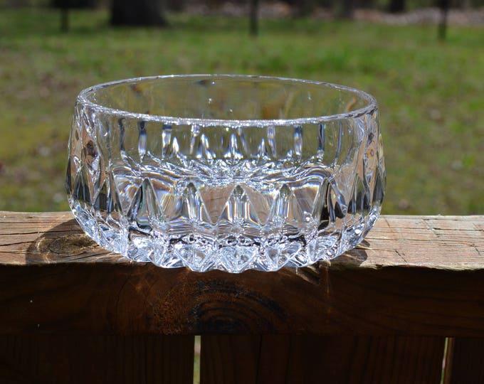 Vintage Crystal Bowl Gorham Crystal Althea Candy Dish German Lead Crystal PanchosPorch