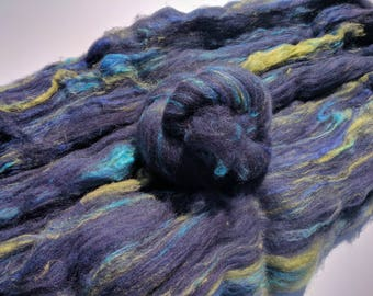 Art batts, Polwarth and Soffsilk 3.7 oz