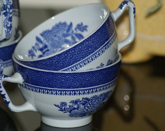 Spode Fitzhugh Cups Set of Four