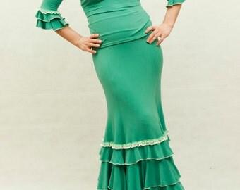 Buy 5 get 1 FREE!!!***Aquamarina Flamenco Dress