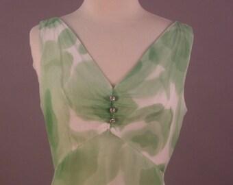 Green Dream Dress Vintage 1960's
