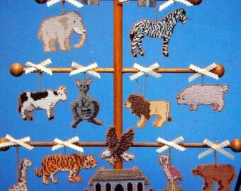 Beaded Treasures By Judy Milhollin Gibbs Vintage Beaded Cross Stitch Pattern Leaflet 1991
