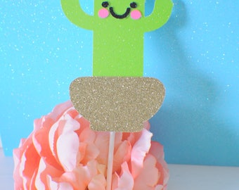 Cactus cake topper, Cinco de mayo cake topper, mexican cake topper, Arizona cake topper, arizona chic