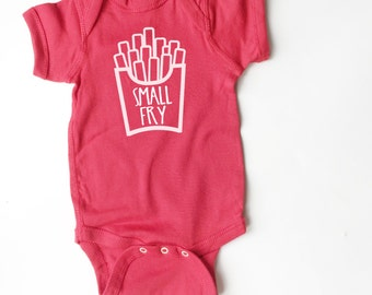 Small Fry shirt for baby! Funny kid clothing!
