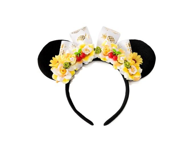 Pineapple Whip Mouse Ears Headband