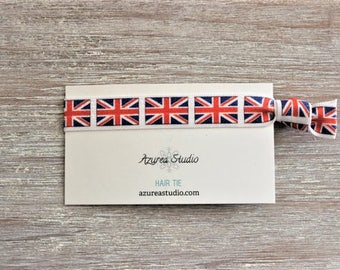 England Flag Hair Tie