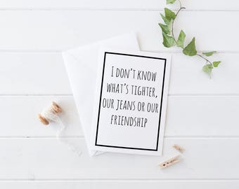 Best Friend Card, Funny card for friend, Funny Friend Card, Funny Friendship Card, Best Friend Gift, Best Friend Card, Best Friend Birthday