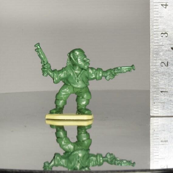 Goblin Pirate - Dual Pistols - Miniature Sculpt - 1x Kneadatite Master Miniature Figurine