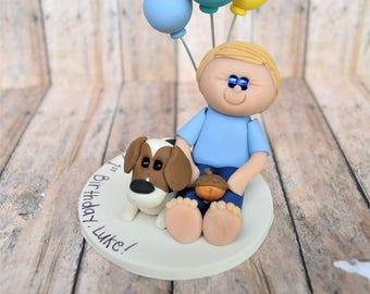 Custom First Birthday Cake Topper, First Birthday Ornament, 1st Birthday Smash Cake, 1st Birthday Cake topper, Boy, First Birthday, Birthday