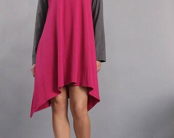 Nightdress, Night gown, bedgown, sleepwear, lounge wear, home wear, camisón, casual wear, plus size nightgown, UrbanMood, UM-ND01-CO