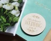Personalized Coaster   Wedding Coasters     Birch Coaster    Engraved   Rustic Coaster   Personalized Favour