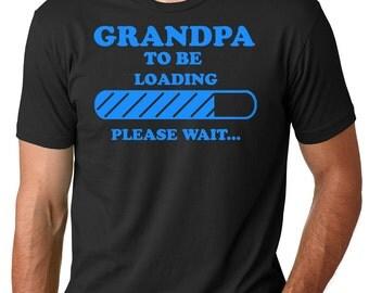 Grandpa T-Shirt Gift For Grandfather Tee Shirt Future Grandfather Shirt