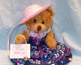 I Care Breast Cancer Bear