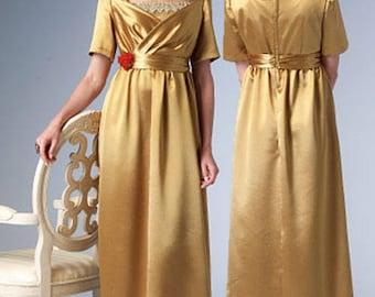 Edwardian Downton Abbey Style Gown