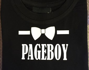 Page Boy  'Bow Tie' Tee