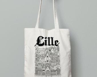 Tote-Bag Lille silkscreen / 100% cotton