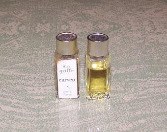 Miniature Carven Ma Griffe Paris France perfume bottle