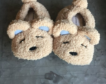 Bear With Me Slippers