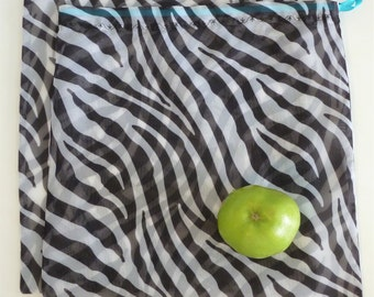 Set of 2 reusable produce bags
