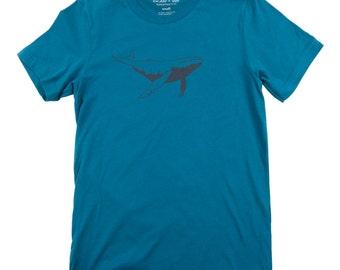 Humpback Whale Tee - Men's Cotton Tshirt