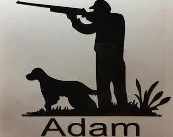 Duck Hunting Decal, Hunting Decal,