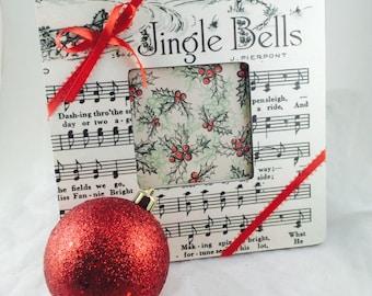 Jingle Bells Christmas frame-Christmas picture frames-Christmas Decorations-christmas frames-Christmas Picture Frame-photo-