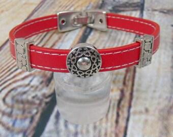 Leather Bracelet, bracelet, Schiebeperlen Exchange jewelry, leather bracelet, bracelet, unisex bracelet, gift, men's jewellery, birthday