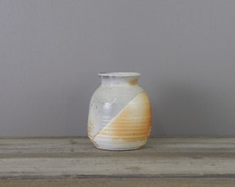 Vintage studio pottery vessel | vintage ceramic vase | #2567