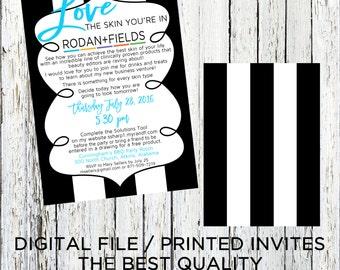 Rodan + Fields New Business Invitation
